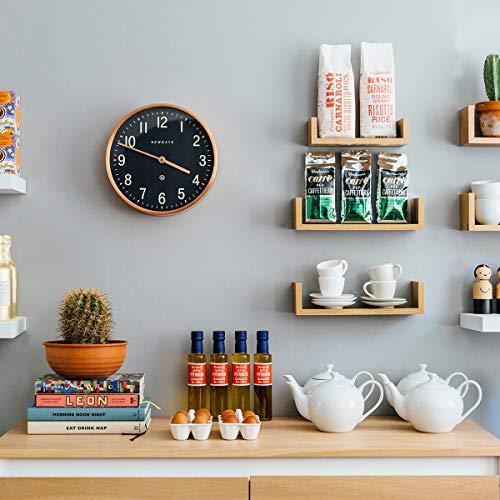 NEWGATE® Master Edwards Wall Clock | Mid-Century Modern (Copper Effect)