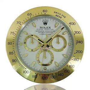 Ygccw Rolex daytona wall clock luminous clock