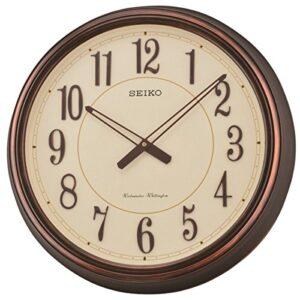 Seiko QXD212B Westminster/Whittington Dual Chimes Wall Clock