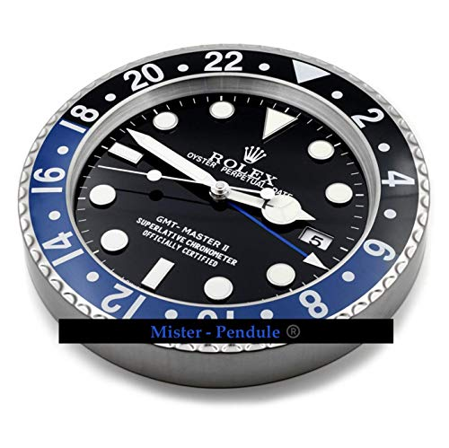 Stay HAOYUN Rolex Wall Clock Light Blue