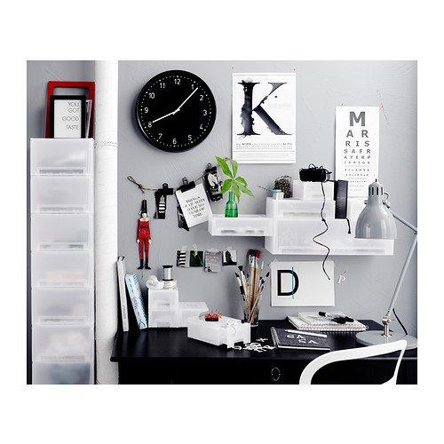 IKEA BONDIS - Wall clock, black