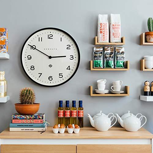 NEWGATE® Echo Number One Large Wall Clock   53cm (Black)